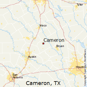 Cameron Texas Map Best Places to Live in Cameron, Texas