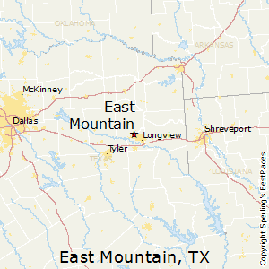 East_Mountain,Texas Map
