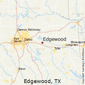 Edgewood,Texas Map