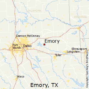 Emory,Texas Map