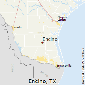 Encino,Texas Map