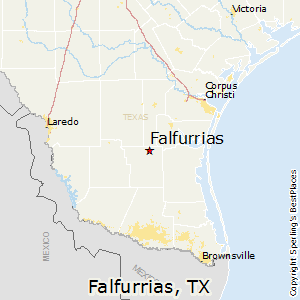 Falfurrias,Texas Map