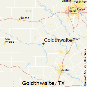 Goldthwaite,Texas Map