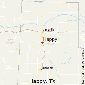 Best Places to Live in Happy Texas