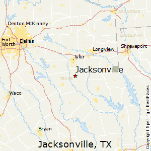 Map Of Jacksonville Texas.Best Places To Live In Jacksonville Texas