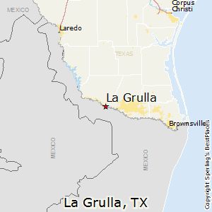 La_Grulla,Texas Map