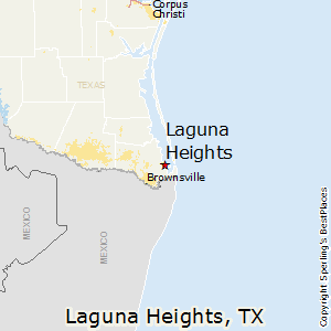 Laguna_Heights,Texas Map