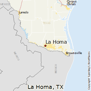 La_Homa,Texas Map