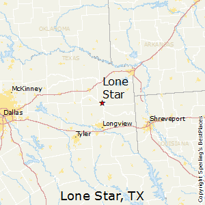 Lone_Star,Texas Map