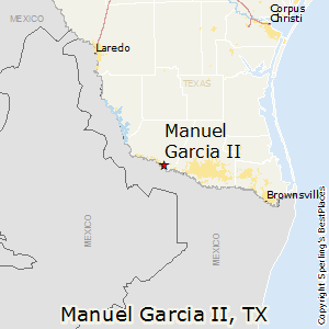 Manuel_Garcia_II,Texas Map