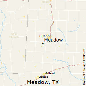 Meadow,Texas Map