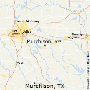 Murchison,Texas Map