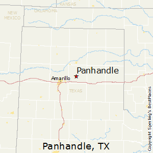 Map Of Texas Panhandle Cities.Comparison Panhandle Texas Springfield Missouri