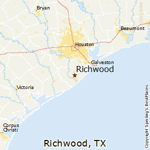 Richwood,Texas Map