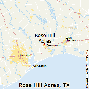 Rose_Hill_Acres,Texas Map