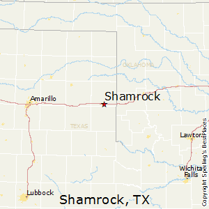 Shamrock Texas Map Best Places to Live in Shamrock, Texas