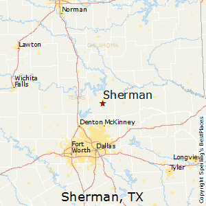 Best Places to Live in Sherman, Texas