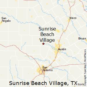 Sunrise Beach Village Texas Map