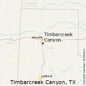 Timbercreek_Canyon,Texas Map