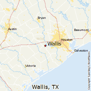 Wallis Texas Map Best Places to Live in Wallis, Texas