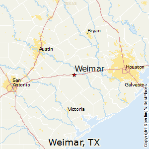 Weimar Texas Map Best Places to Live in Weimar, Texas
