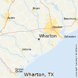 Wharton Texas Map Best Places to Live in Wharton, Texas