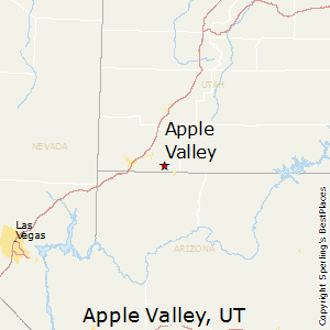 Apple_Valley,Utah Map