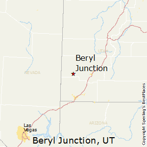 Beryl_Junction,Utah Map