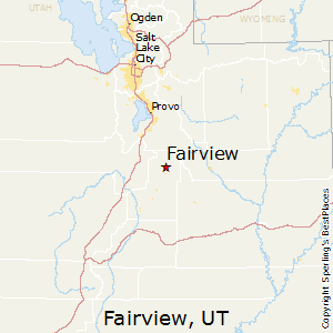 Fairview,Utah Map