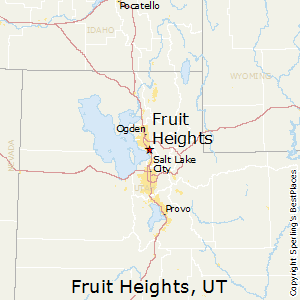 Fruit_Heights,Utah Map