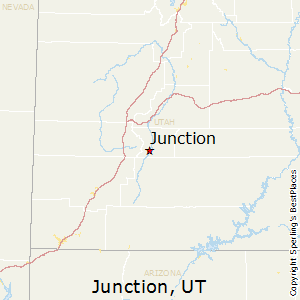 Junction,Utah Map