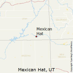 Mexican_Hat,Utah Map