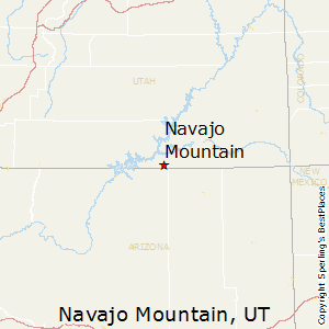 Navajo_Mountain,Utah Map