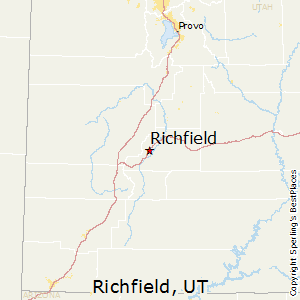 Best Places to Live in Richfield, Utah