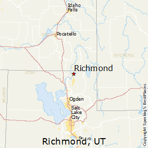 Richmond,Utah Map