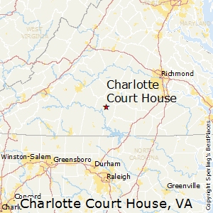 Charlotte_Court_House,Virginia Map