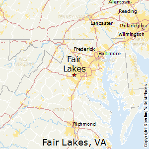 Best Places To Live In Fair Lakes Virginia