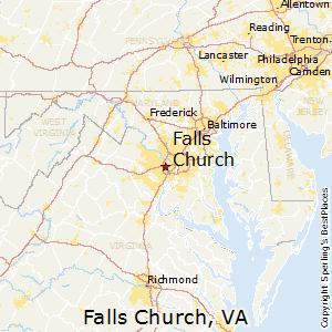 Falls Church Va Zip Code Map.Best Places To Live In Falls Church Virginia