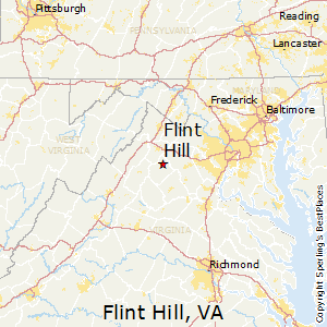 Flint_Hill,Virginia Map