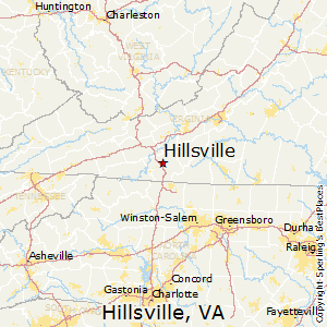 Comparison Hillsville Virginia Galax Virginia