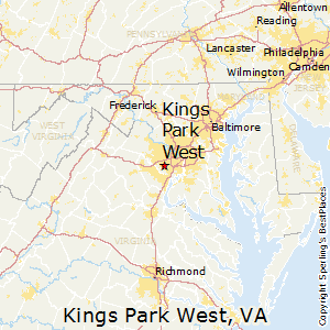 Kings_Park_West,Virginia Map