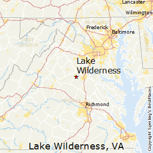 Lake_Wilderness,Virginia Map