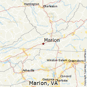 Marion Virginia Map.Best Places To Live In Marion Virginia