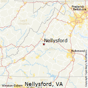 Nellysford,Virginia Map