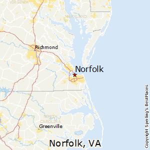 Comparison new york new york norfolk virginia norfolkvirginia map sciox Choice Image