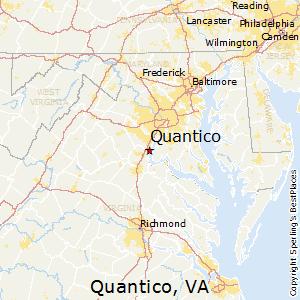 Quantico area code