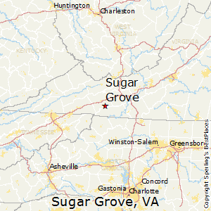 Marion Virginia Map.Comparison Sugar Grove Virginia Marion Virginia