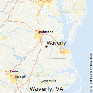 Comparison: Waverly, Virginia   Suffolk, Virginia