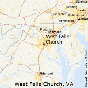 Falls Church Va Zip Code Map.Best Places To Live In West Falls Church Virginia