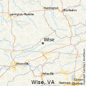 Wise,Virginia Map